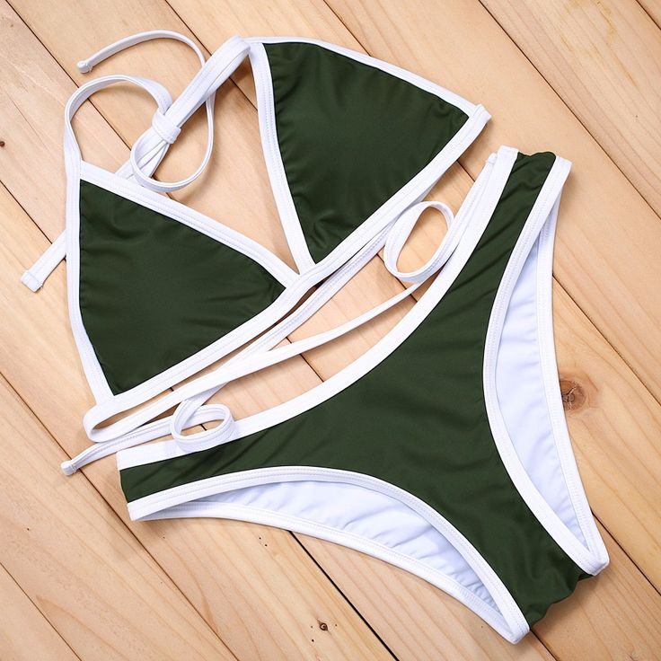 Miranda Bikini Set - Olive Green