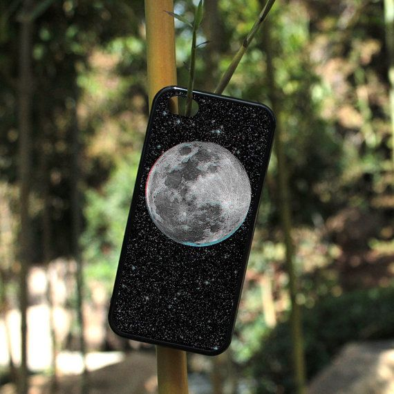 iPhone Case The Moon Trip Lunar Celestial For iPhone 4, iPhone 5, iPhone 5c, iPhone 6, iPhone 6 Plus with FREE iPhone Tempered Glass Screen*