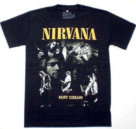 Maglietta dei Nirvana