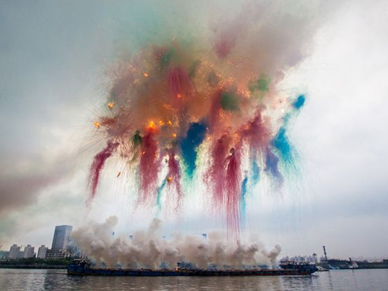 Cai Guo Qiang | Design Crush | Street Art