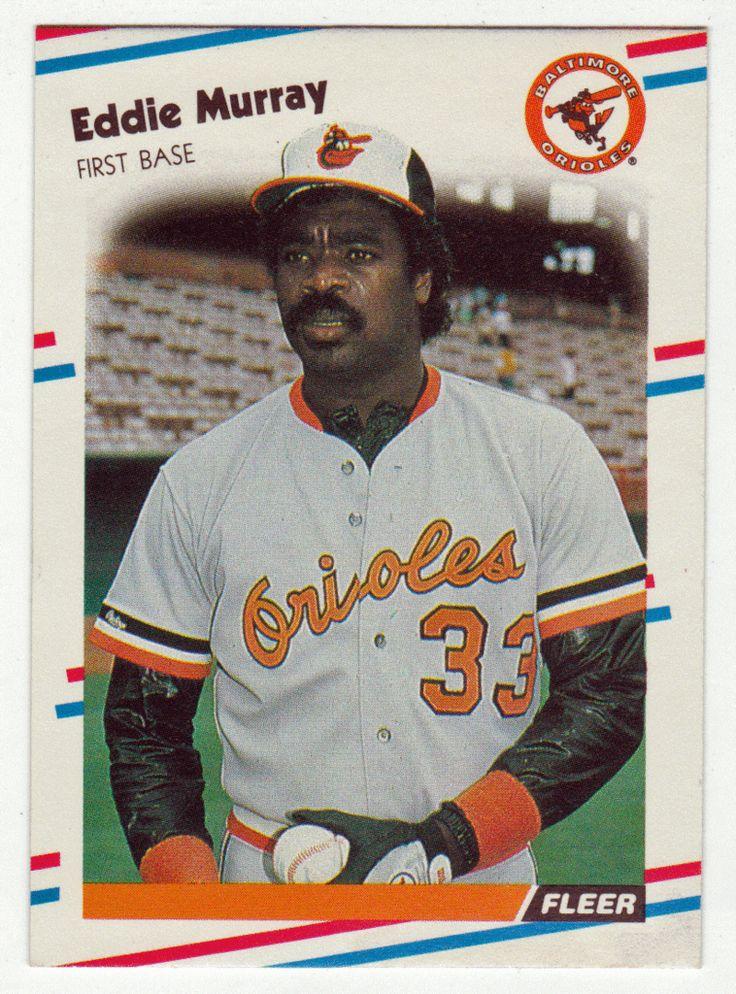 Eddie Murray # 567 - 1988 Fleer Baseball