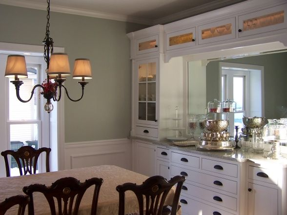 Dining Room Built Ins Wall To In Cabinetry Offers Great Storage For China