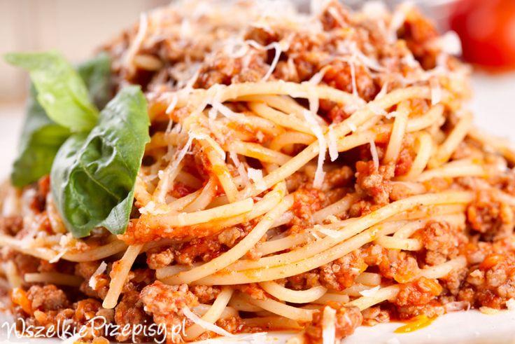 Prawdziwe spaghetti bolognese #spaghetti #bolognese http://www.wszelkieprzepisy.pl/spaghetti-bolognese/prawdziwe-spaghetti-bolognese