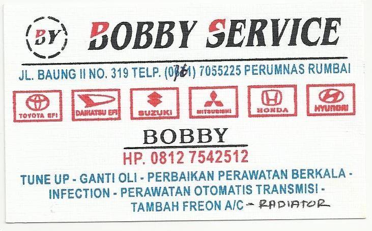 Bobby Service