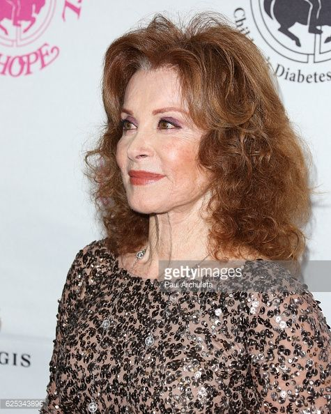 Actress Stefanie Powers attends the 2016 Carousel Of Hope ...