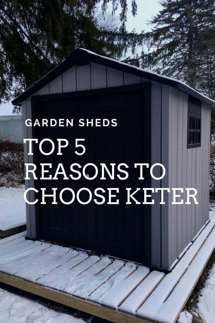 The Top 5 Reasons To Choose Keter For Your Garden Shed Gardening Know How S Blog Garden Shed Keter Sheds Garden Storage Shed