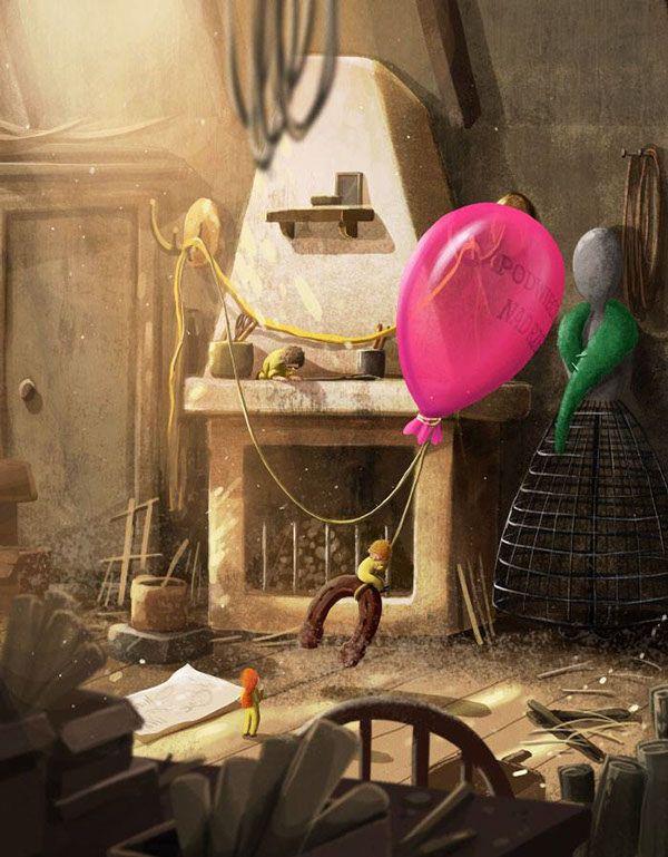 The Borrowers Aloft by Emilia Dziubak