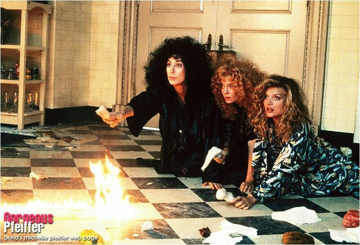 Michelle Pfeiffer, Cher & Susan Sarandon.