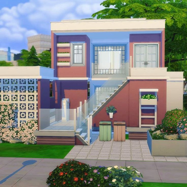 Houses Sims 4 Modern Houses In 2020 Sims House Sims 4 Houses Sims House Design