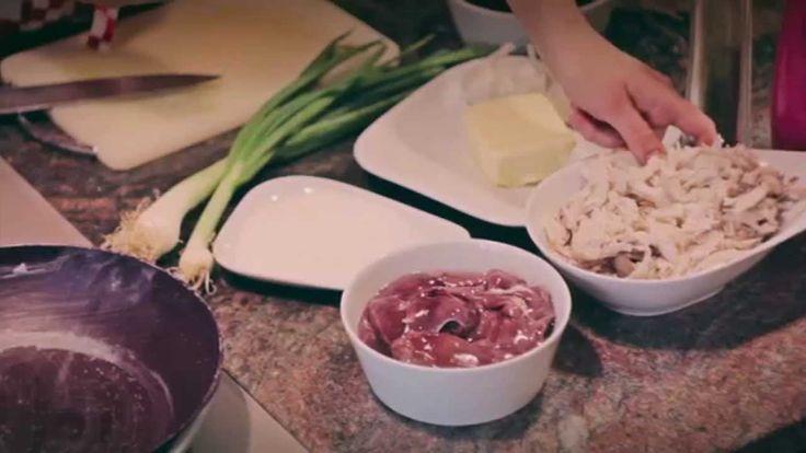 Jak udělat domácí paštiku z vařeného kuřecího masa a jater | recept