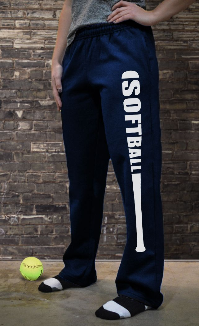 Softball Fleece Sweatpants Bat Softball SB-02546