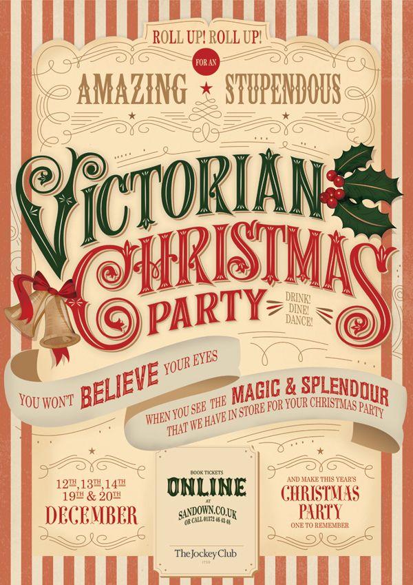 Victorian Christmas by Martina Flor, via Behance