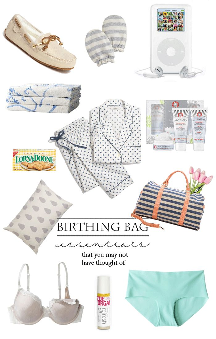 What to Pack in Your Birthing Hospital Bag