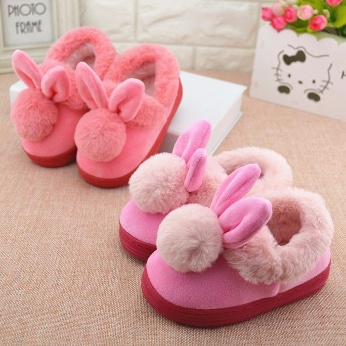 fc50ad02d4b Winter Children 'S Cotton Slipper Shoes Boys/Girls Indoor Slipper ...