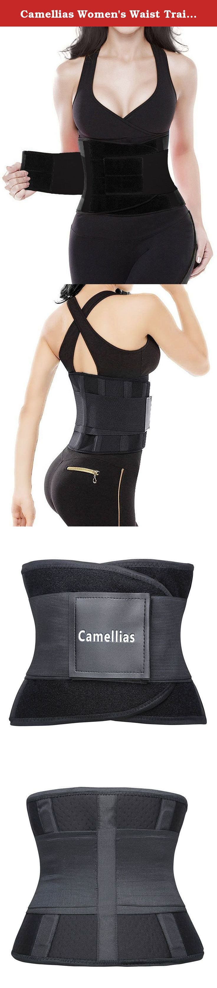 Camellias Women's Waist Trainer Belt - Body Shaper Belt For An Hourglass Shaper, SZ8002-Black-M. Looking for the perfect waist trainer corset cincher for your workout or weight loss? Look no further, this is IT! Camellias waist trainers corset belt workout waist cincher offers support and shaping in beautful form factor. Mesh fabric in the back allows for breathability in your workout while the four acrylic bones provide unparalleled support in a waist cincher with the versatility…