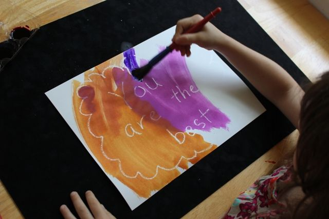 invisible drawings... love this simple idea