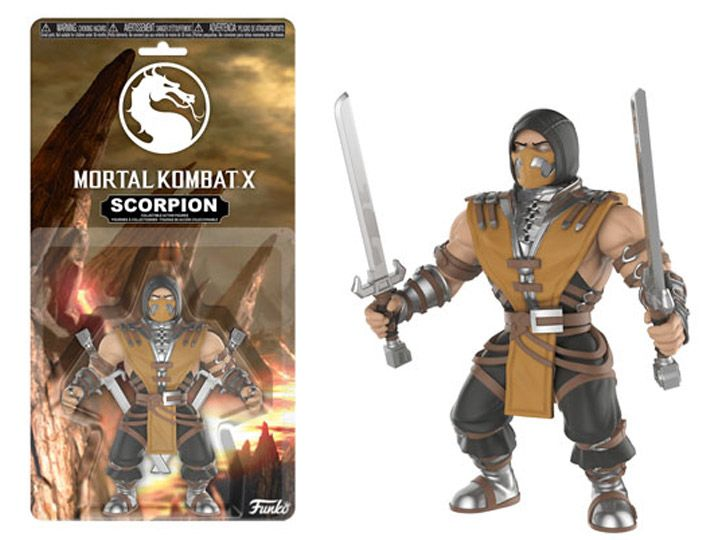 Mortal Kombat Scorpion 5.50 & quot; Action Figure #transformer