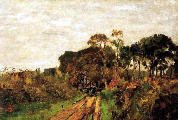 Paál László - Hazafelé (1871)
