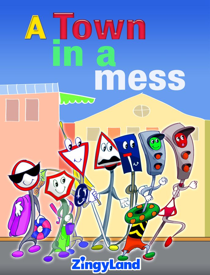 Traffic lights decide to leave the town for vacations! Learn the importance of traffic lights and transportation code. Enjoy reading the story, along with three free games.