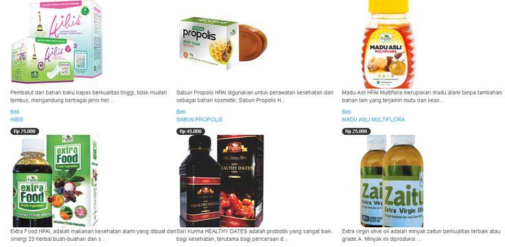Parno pake obat berbahan kimia? Gampang, belanja aja di rumahherbaindonesia.com semua produknya alami dari herbal