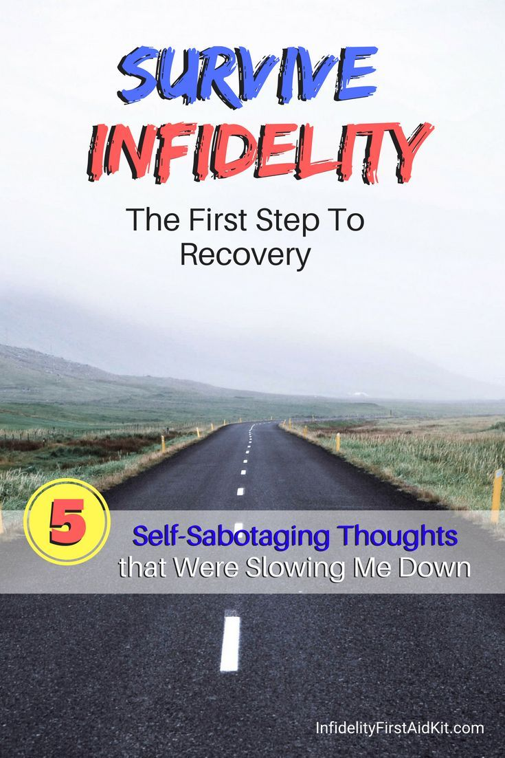 How survive after infidelity