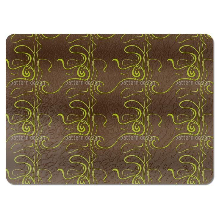 Uneekee Moulin Nouveau Brown Placemats (Set of 4) (Moulin Nouveau Brown Placemat) (Polyester)
