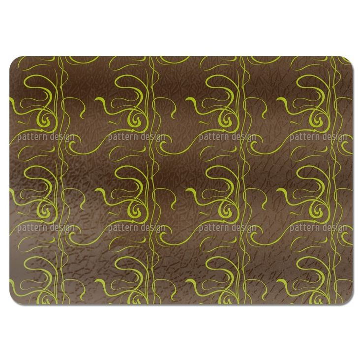 Uneekee Moulin Nouveau Brown Placemats (Set of 4) (Moulin Nouveau Brown Placemat) (Polyester)