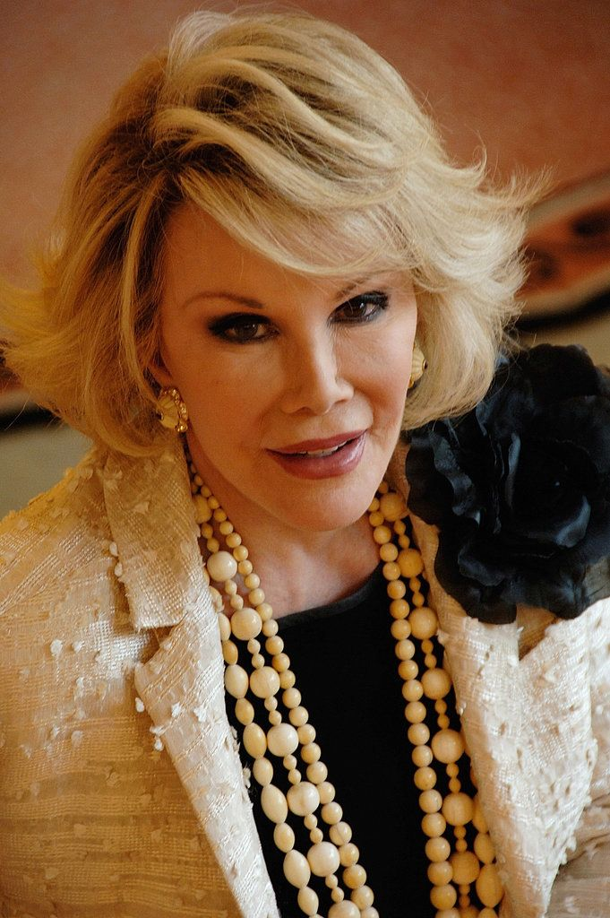 Laugh Through Your Tears With Joan Rivers's Best Quotes on Beauty: Joan Rivers passed away this morning at the age of 81.
