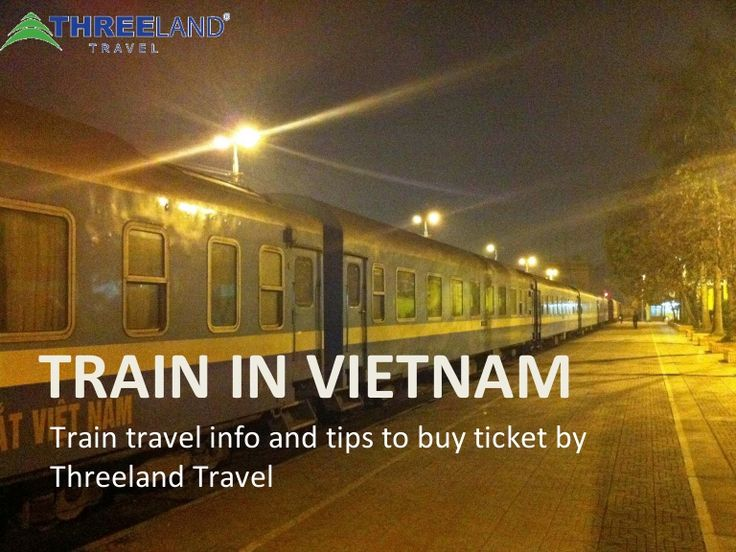 Train travel info and tips to buy ticket by Threeland Travel.