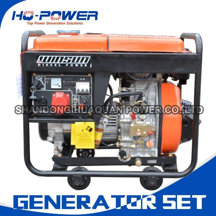 810.01$  Buy here - http://alimr2.worldwells.pw/go.php?t=32751994816 - all in one diesel generator set mini alternator motor 5000w 6kva engine