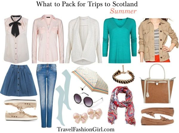 What to Pack for Trips to Scotland in SUMMER via TravelFashionGirl.com #travel #fashion #packing #list