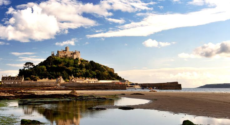 Cornwall - St. Michaels Mount.Favorite Places, Holiday Destinations, Michael Mount, Castles, Islands, Travel, National Trust, Cornwall England, St Michael