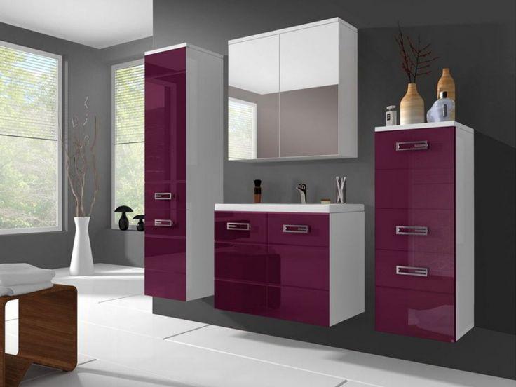 17 meilleures id es propos de lilas salle de bains sur pinterest salle la - Commode salle de bain pas cher ...