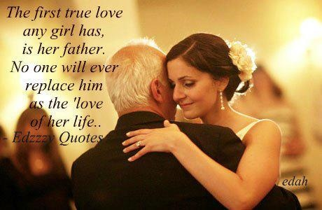 i remember on my wedding day and the father daughter dance, i cried like a little girl!! i love my daddy