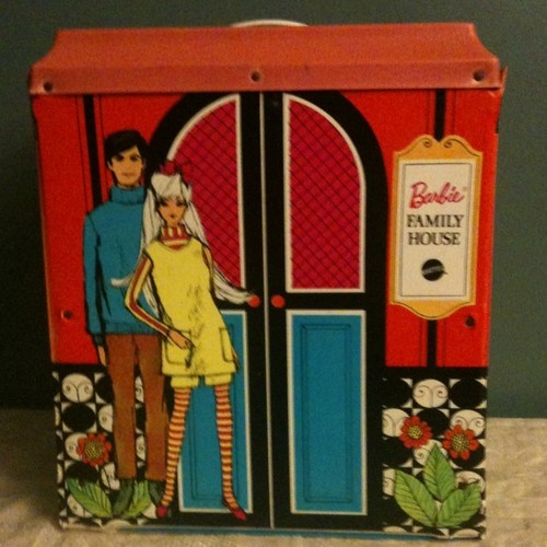 Barbie family house