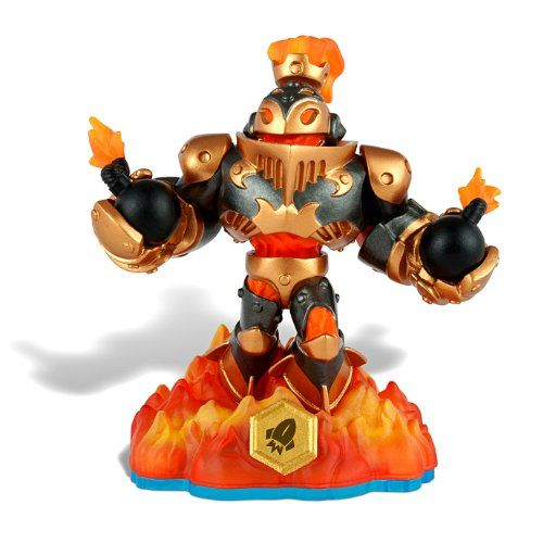 Skylanders SWAP FORCE LOOSE SWAPPABLE Figure Blast Zone (From Regular Edition Starter):   Skylanders SWAP FORCE LOOSE SWAPPABLE Figure Blast Zone [From Regular Edition Starter] Pre-Owned