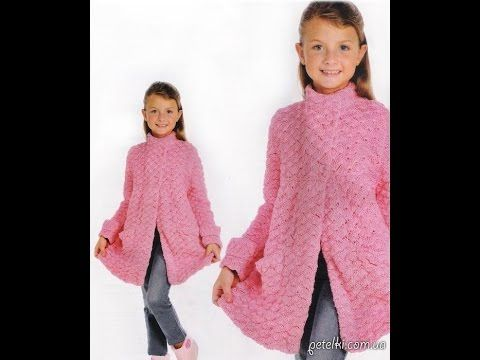 VERY EASY crochet cardigan / sweater / jumper tutorial - baby and child ...