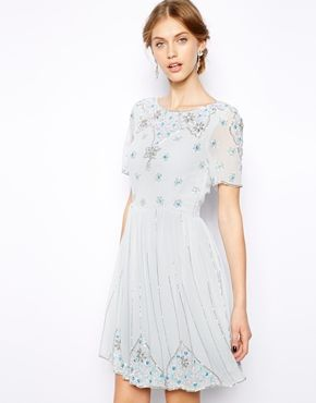 Frock and Frill Embellished Skater Dress SGD$235.16NOW SGD$141.10  totally would buy this if i have an event to wear it to..