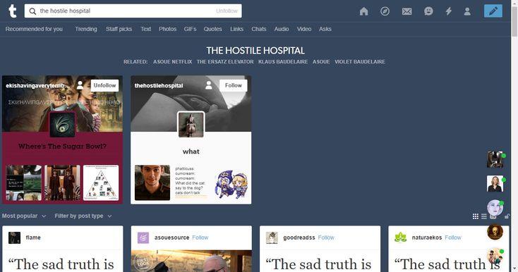 the hostile hospital | Tumblr
