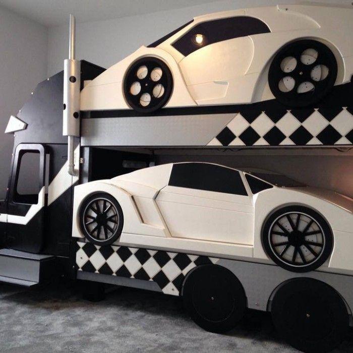 Lamborghini Furniture: Lamborghini Sports Car Bunk Bed In 2019