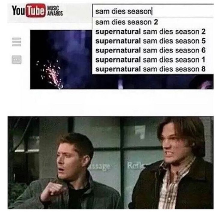 Welcome to Supernatural where the main characters die at leary once every season.