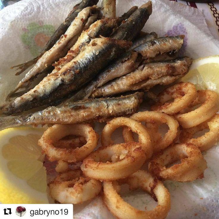 #baccoperbaccoit Tutto il sapore del #Mare in una #fritturadimare grazie a: @gabryno19 #seafood #CucinaItaliana #cucinadimare #apranzoconbacco #cucina #cucinare #baccoperbaccoitalia #BaccodiMare #food...