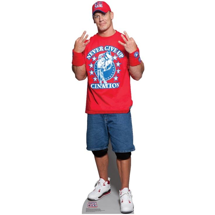 John Cena Never Give Up WWE Standup $39.99