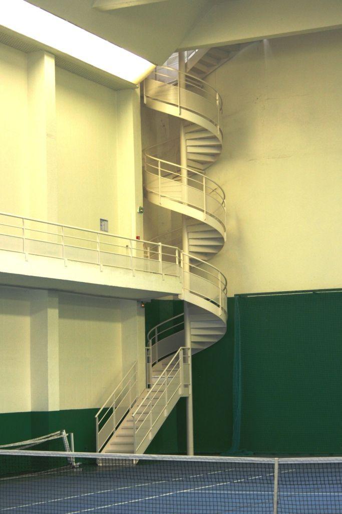 Escalier sortie secours