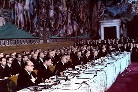 In maart 2017 wordt gevierd dat het Verdrag van Rome 60 jaar bestaat. Op 25 maart 1957 werd in Rome het Verdrag tot oprichting van de Europese Economische Gemeenschap ondertekend dat de basis vormt voor wat tegenwoordig de Europese Unie heet. Het was een ambitieus plan van zes West-Europese landen die op die manier wilden voorkomen dat Europa voor de derde keer in één eeuw het toneel zou worden van een verwoestende oorlog.