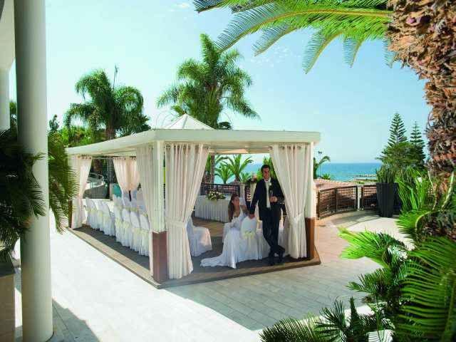 Wedding At The Gazebo Beachfront Resort Limassol Cyprus