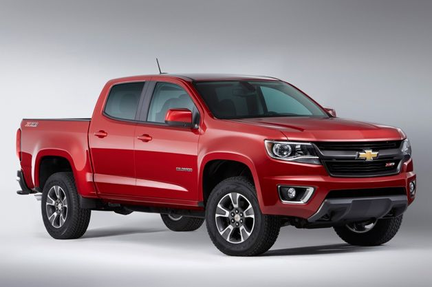 2015 Chevy Colorado to start at $20,100*, GMC Canyon at $20,995**