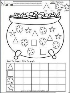 30 best Free Printable St Patrick's Day Worksheets images