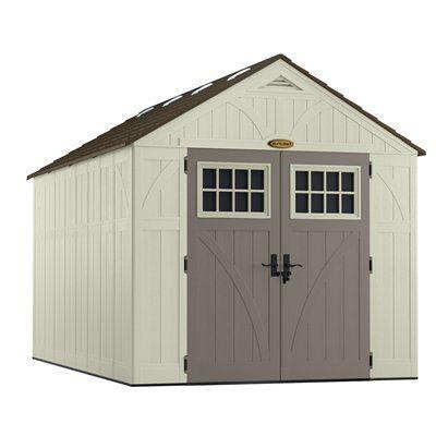 Suncast Tremont® 8-ft x 13-ft Resin Storage Shed