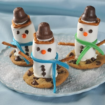 10 Cute Snowman Sweet Treat Ideas For Christmas or Winter Holiday Fun!